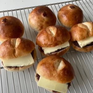 あんバター・湯種食パン・絞りだしクッキー・ミルクフランス
