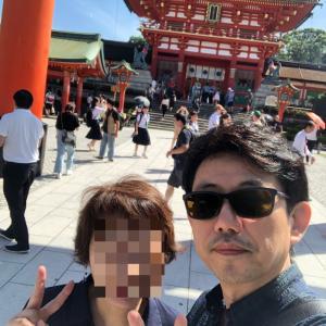 奥さんと2人で観光☆