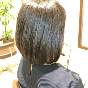 初めてのご来店、「くせ毛を生かしたヘアスタイルに」☆
