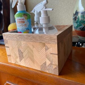 寄木の箱作り2