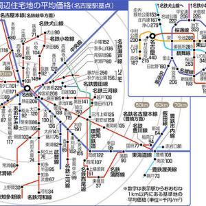 愛知県基準地価、都心・周辺地域で7年連続上昇!?