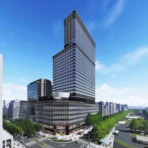 新中日ビル、建て替え基本計画発表