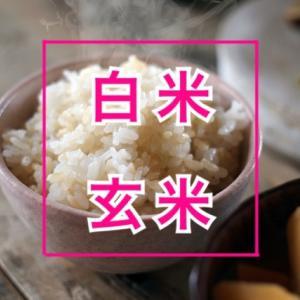 玄米と白米どっちが良いのか?