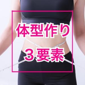 女性らしい体型を作る3要素