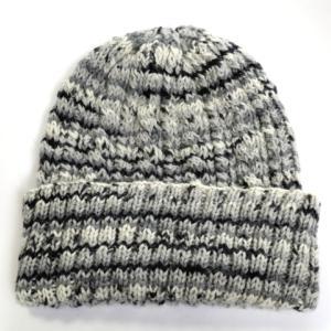 【完成】KFSケーブル編みの帽子