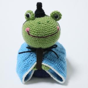 カエルの雛人形(6):男雛完成!