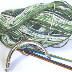 棒針編みのがま口(1):クンスト編みの作り目のやり方解説あるよ