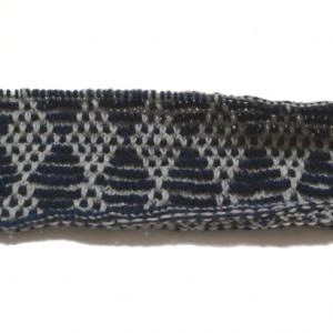 ダイヤ模様のベスト(4) :1日に10段編むのが精一杯orz