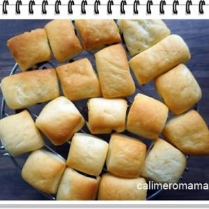 【パンいろいろ♪】 ミルクパン・抹茶スコーン・丸パン
