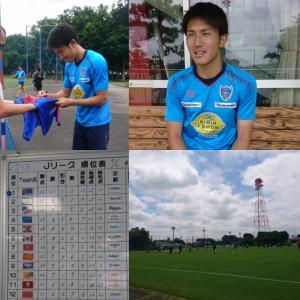 今週は小平グランドで渡辺剛選手にインタビューしてきました。
