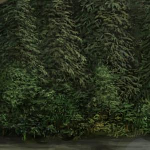 【厚塗り】茂みの描き方【メイキング】