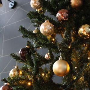 クリスマスツリーも完成♡