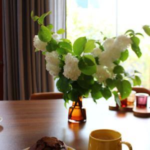 #お花を飾ろう そして給付金のブツが届いたわ‥フフフ