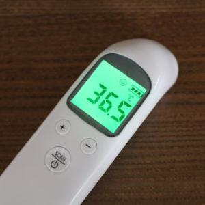 なんとラクチンな体温計(・∀・)