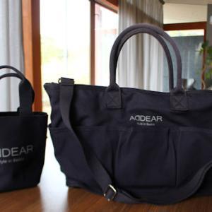 ADDEARのバッグ買っちゃいました(・∀・)その意外な使い方とは