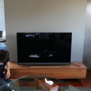待ちに待ったテレビボードがキターーー!( ;∀;)