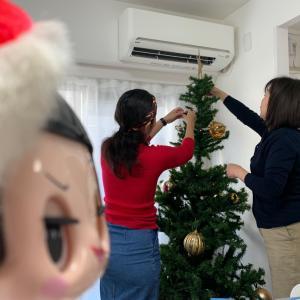 クリスマスの飾り付けと便利なアプリ