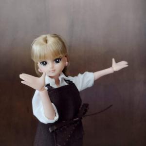 【リユース万歳!】お片づけドール誕生!