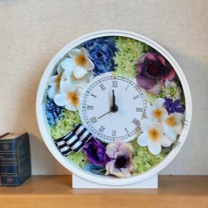 出産前の花時計