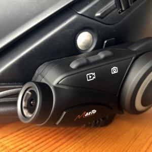 Maxto M3 ドラレコ一体型インカム インプレ