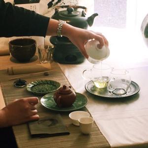 「かさなるお茶の愉しみー台湾茶とお抹茶の会ー」 お知らせ