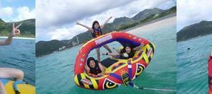 沖縄のマリンアクティビティーを満喫