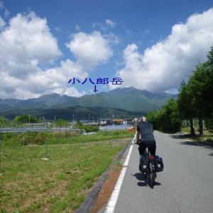 清流苑から小八郎岳