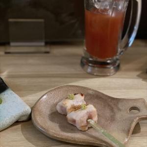 炭火焼鳥と鶏肴keshiki. @焼鳥 大阪 心斎橋