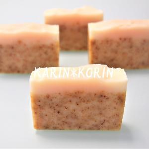 初心者様作の柚子香る2層の石けん~手作り石けん&ハーブKARIN*KORIN@東京板橋&札幌