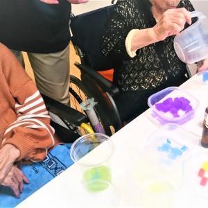 高齢者施設できらきらアロマソープ~手作り石けん&ハーブアロマKARIN*KORIN