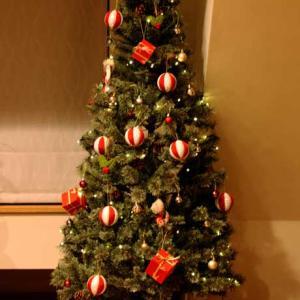 クリスマスハンドメイドオーナメント①和風オーナメントボール