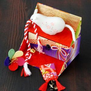 和風カルトナージュ 飾り棚BOX