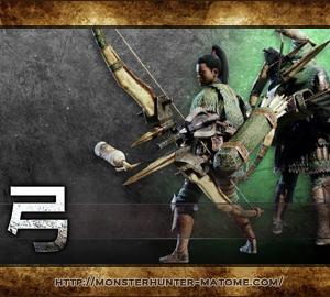 【MHW】ジャナフ弓の装備って火属性強化って3でいい?