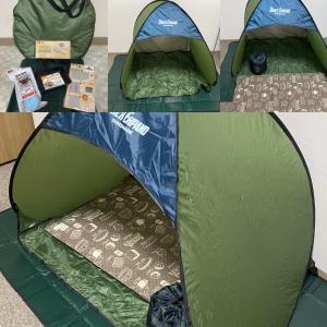 キャンプしないんですが。。。