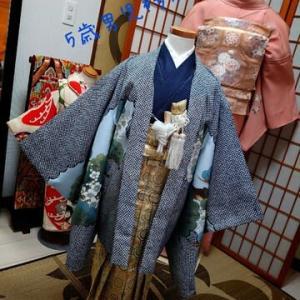 ご家族みんなで七五三のお参りに着物をお召しになりませんか~五歳男児袴