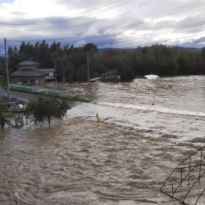 阿武隈川の氾濫で実家が床上浸水に