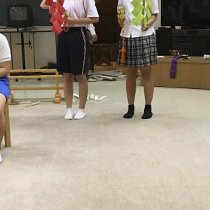 綱神社太々神楽の練習開始