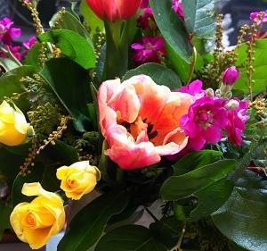 1月のお花教室