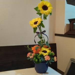 7月のお花教室