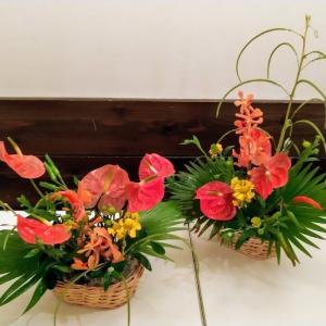 8月のお花教室