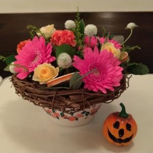 10月のお花教室