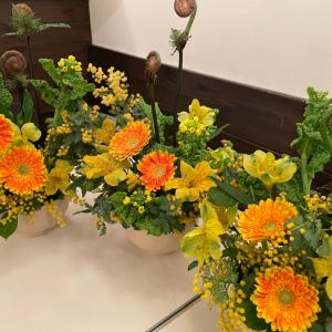 2月のお花教室