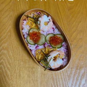 1/9ちらし寿司弁当·湯豆腐