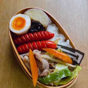 9/29 野菜炒め弁当