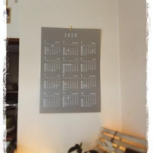 セリアの一年カレンダー☆