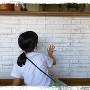 壁紙貼りに挑戦☆