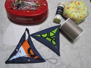 三角形のスカラップ