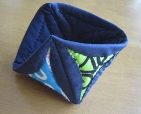 引き続き三角形のスカラップ
