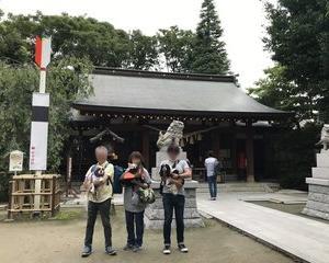 GO TO ご近所!(新田神社&うしすけ)