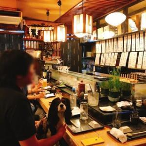 お寿司屋さんのカウンターデビュー